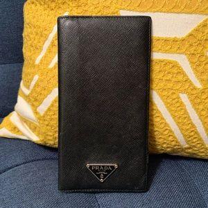 Prada Checkbook Cover / Wallet
